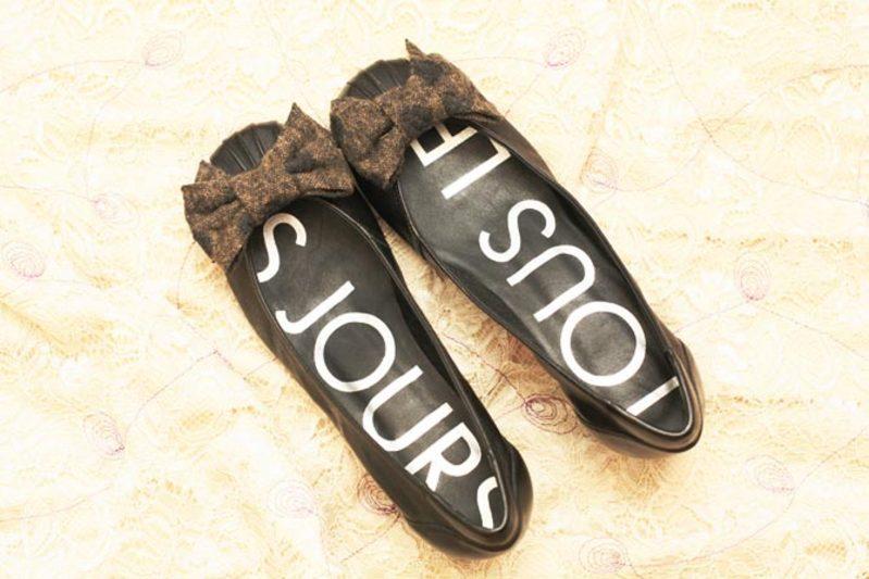 リボンの靴