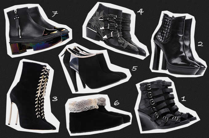 どのブーツがお好み!?ShoeCreamおすすめブラックブーツ特集