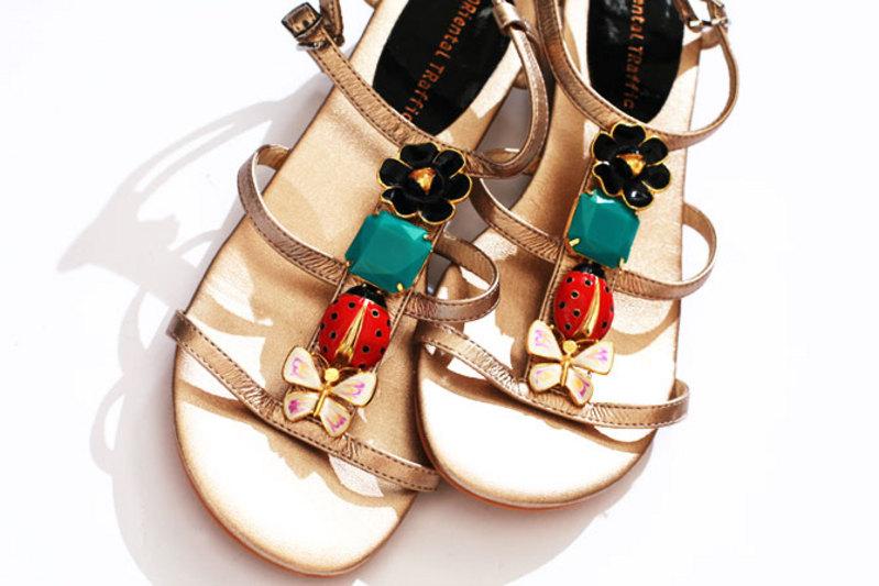 オリエンタルトラフィック靴