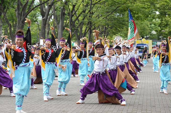 原宿表参道元氣祭 スーパーよさこい2012