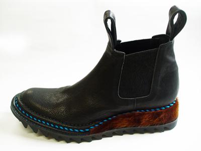 履くと特別な気持ち になる靴 JUCO./Basic:王様のギザギザ歯型ブーツ