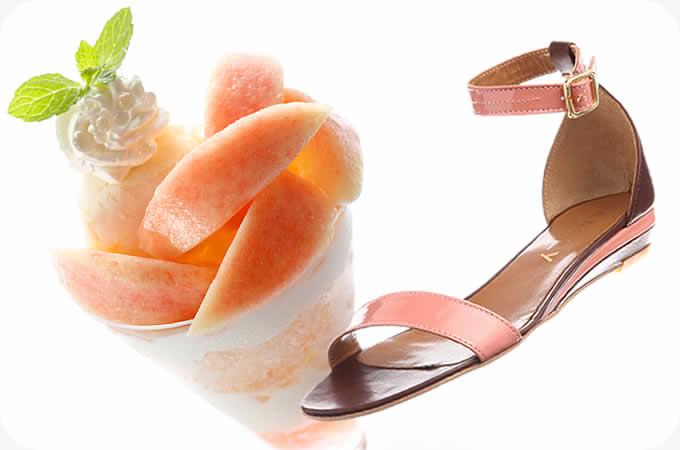 「体験と靴」-アイスクリームを食べたい気分になる靴!