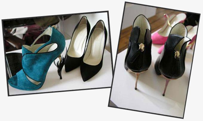 ロンドンファッションウィーク通信-新進シューズデザイナーたちがプロデュースするアバンギャルドな靴