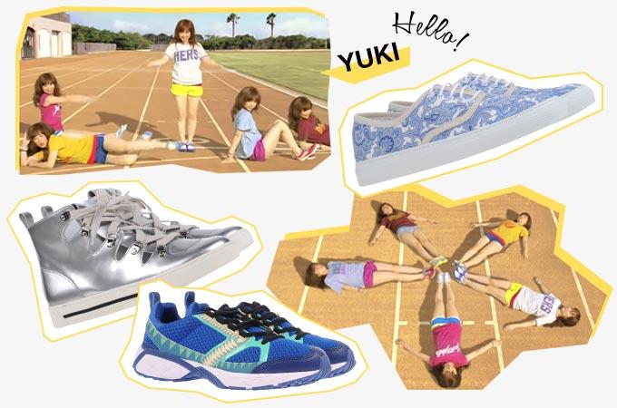 スニーカーで踊る!YUKI 〜 Hello!