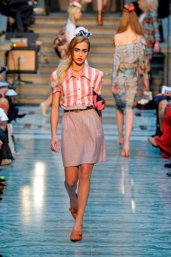 Vivienne Westwood Red Label 2013 SS COLLECTION