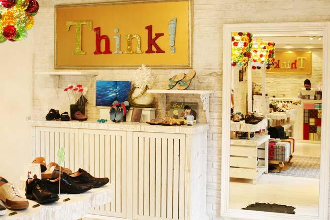 街の素敵な靴屋さん「Think! 表参道」