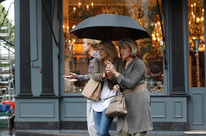 ヒロインShoes-映画「ミッドナイト・イン・パリ」イマドキとクラシックなふたりの美女が着こなすモードスタイル