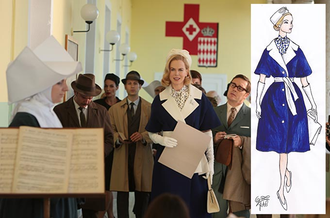 映画と靴『グレース・オブ・モナコ 公妃の切り札』ニコール・キッドマンが知的に着こなす現代版グレース・ケリーコレクション