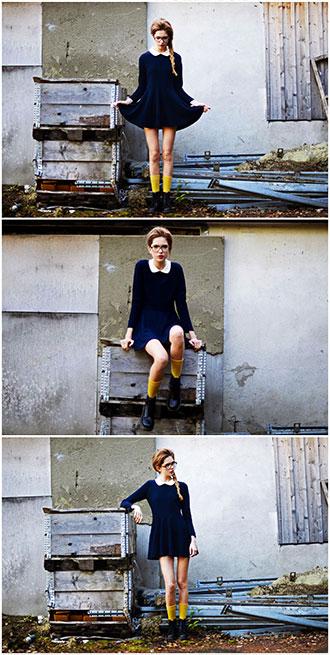 足元美人を探せ!スウェーデンで見つけたドクターマーチンを履きこなす美女
