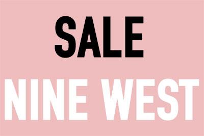 NINE WESTのモデルサイズ限定セール