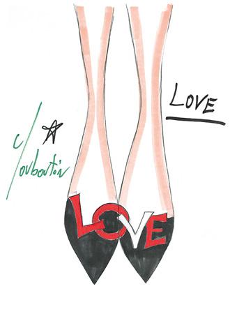 クリスチャンルブタン LOVE