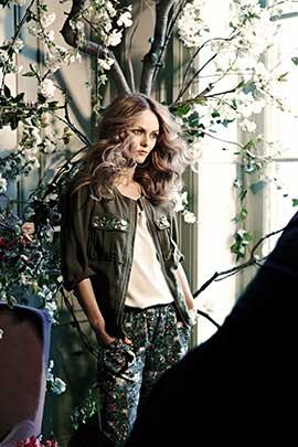 Conscious*Collection by H&M、今春のキャンペーンモデルにヴァネッサ・パラディを起用