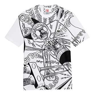 LACOSTE L!VE×手塚プロダクションのTシャツ