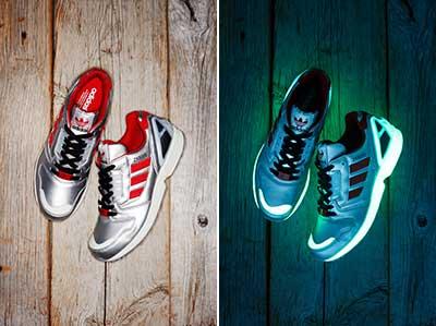 暗闇でひときわクール!adidas Originals ×atmosの別注'蓄光'スニーカー