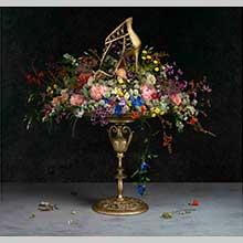 クリスチャン ルブタン、14SSのヴィジュアルイメージは印象派絵画の世界