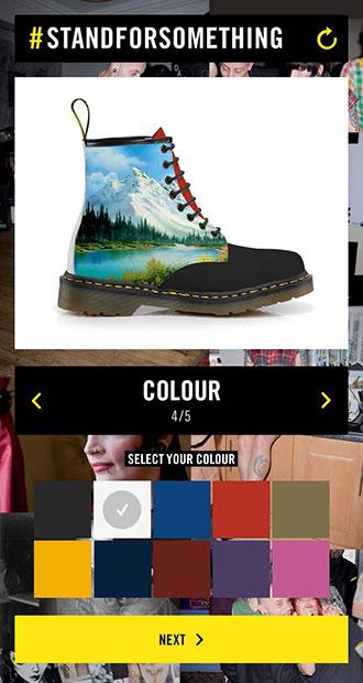ドクターマーチンのデザイナーになれる!? あなたのセンスでブーツをデザイン