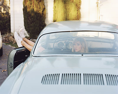 イタリア発スニーカーブランド・スペルガの2014年春夏イメージモデルはスキ・ウォーターハウス