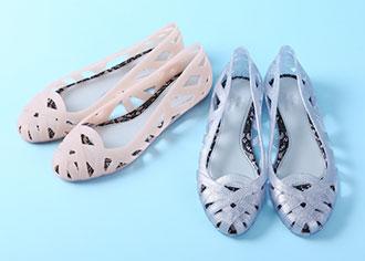雨でも履けるキュート靴!レオパード柄、melissa×Jason Wuラバーシューズ、2wayレインブーティ@表参道ヒルズ