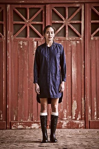 仏英2大アウトドアウェアのスペシャルコラボ!AIGLE x Nigel Cabournの秋冬コレクションは本格&ガーリーなワークブーツに注目