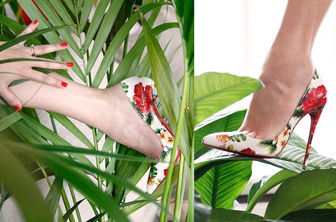 クリスチャンルブタンの春夏コレクション「Hawaii Kawai」で南国モードの足元に!