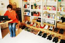 履いて気合を入れ、見て和む。靴は大切なパートナー