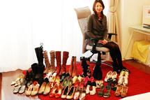 造形美に惹かれ、ファッションアイテムとして楽しむ。とにかく靴が好き。