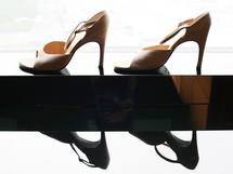靴が足をキレイに見せてくれるから、堂々としていられるのかも