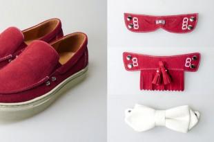 Shoes for My Boyfriend♥彼のローファーを着せ替えて4つのスタイルを楽しんじゃおう