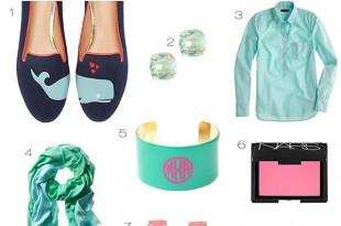 ミントグリーン+ピンク+ターコイズは春を呼ぶラッキーカラー