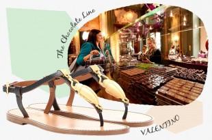 甘いヨーロッパを歩く〜アントワープの変わりプラリネ x ヴァレンティーノのスカラベ付きサンダル