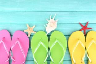 【お役立ち】雨の日のビーチサンダルは要注意!