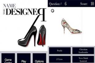 有名なあのブランドの靴を当てる!4択クイズアプリ