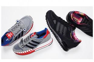 サメのランニングシューズ...!?アディダス オリジナルスあの名靴がパワフルにアップデート