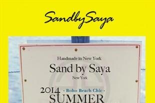 デザイナーSayaさんも来日!NY発サンダルブランドSand by SayaのPOP-UPイベントin Japan