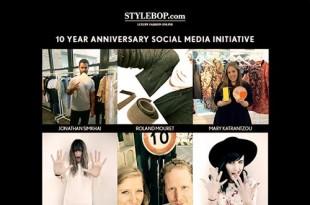 キーワードは「10」!フォロワー参加型のSTYLEBOP.com10周年記念キャンペーン